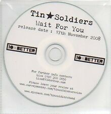 (302A) Tin Soldiers, Wait For You - DJ CD