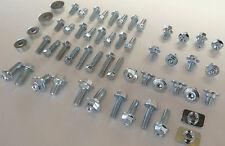 70pc CR PLASTICS BOLT KIT HONDA CR80 CR85R CR125R CR250R CR500 FENDERS SHROUDS
