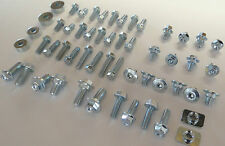 70pc CR FULL PLASTICS BOLT KIT HONDA CR80 CR85 CR125 CR250 CR500 SEAT SHROUDS