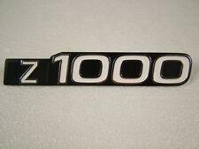 KAWASAKI Z1000 A1-'77, A2/A2A-'78 SIDE COVER BADGE