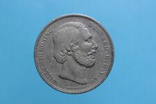OLANDA - Guglielmo III (1849-1890) 2 1/2 Gulden 1866 BB KM#82