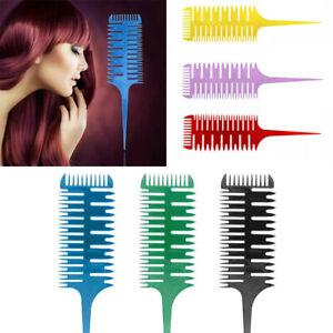 Professional 3-Way Salon Weaver Weaving Highlight Highlighting  Hair Comb Brush