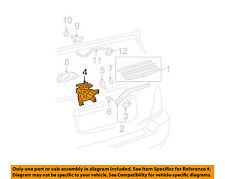 TOYOTA OEM 08-13 Highlander Wiper-Rear Motor 851300E051 RAIN AND STORM SAFETY