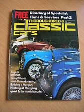 Thoroughbred & Classic Cars Magazine Nov November 1975 75