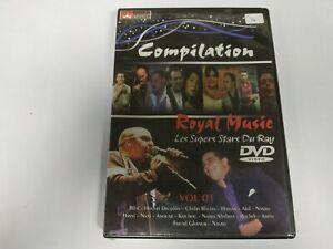 JJ11- COMPILATION ROYAL MUSIC VOL 1  DVD NUEVO PRECINTADO LIQUIDACIÓN!!