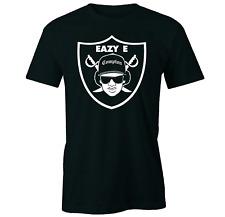 Easy E - Raiders Style  T SHIRT, Compton, N.W.A. Dr Dre, Ice Cube, Tu Pac, Rap