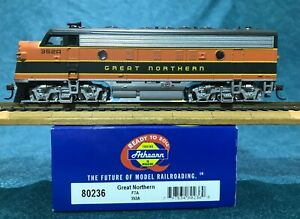 Athearn GN Great Northern Railway F7A HO Scale Diesel Locomotive OOP