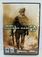 Call of Duty Modern Warfare Game Video Game 2 PC dvd rom 2 disc  2009 Complete
