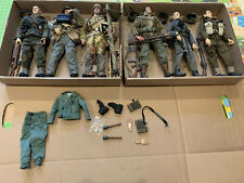 WWII 1:6 DID Soldier Story 3rd Fallschirmjager Normandy US British German Lot