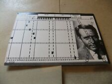 PATRICK McGOOHAN THE PRISONER RESIGNED COMPUTER PUNCH CARD XXX FILING CABINET