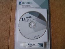 KÖNIG CD LENS CLEANER TVCLC10 SET 1 x CLEANING CD UND 20ml REINIGUNGSFLÜSSIGKEIT