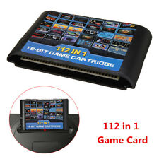 112 in 1 For Sega Megadrive Genesis Game Cartridge Include Contra Gunstar Heroes