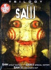 Saw Trilogy 0031398219194 With Tobin Bell DVD Region 1