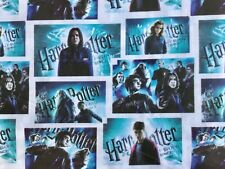 FQ HARRY POTTER HOGWARTS HALF BLOOD PRINCE POLYCOTTON  FABRIC CHARACTER WIZARD