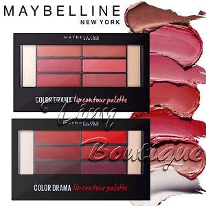 Maybelline Color Drama Lip Contour Palette Primer Liner Lipstick and Highlighter