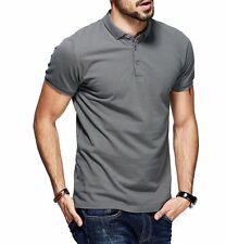 New!!! Men Casual Polo shirt 100% Cotton Lapel Short Sleeve Solid T-shirt M~XXL