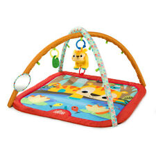Pal Around Jungle Activity Gym Baby Soft Play Mat with Arch Sound Toys & Rattle