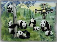 Panda Bear wall clock They make great gifts