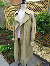 VINTAGE YSL Yves Saint Laurent MEN'S RAIN/Trench Taglia 40/50