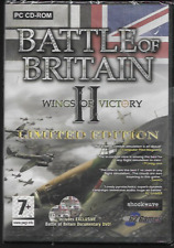 BATTLE OF BRITAIN II (2) WINGS OF VICTORY PC CD-ROM GAME LTD EDITION NEW/SEALED
