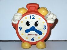 SQUEAKY TOY ANGRY CLOCK 1980s CHINA DISNEY