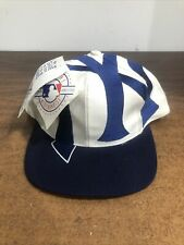 Vintage New York Yankees The Game Big Logo Snapback Hat Cap New w/ Tag Deadstock