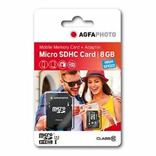 AgfaPhoto Mobile High Speed  8GB MicroSDHC Class 10 (+ Adapter)