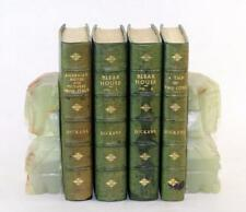 1874 Charles Dickens Lot of 3 Fine Sotheran 3/4 Green Leather Binding