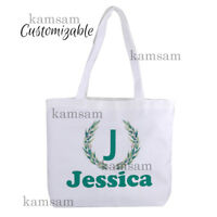 Personalised canvas tote bag custom bridal hen party bag wedding gift bag