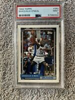 1992 Topps #362 Shaquille O'Neal RC Rookie PSA 9