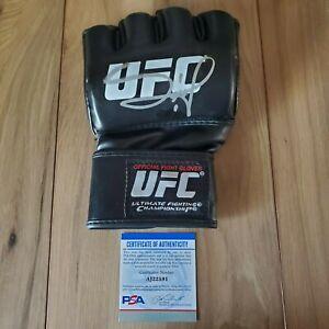 Francis Ngannou UFC signed autographed Glove coa PSA/DNA #AJ22591