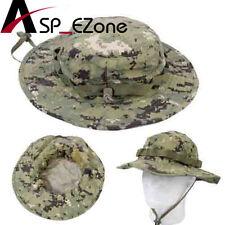 Airsoft Tactical Paintball Battle Rip Boonie Hat Cap Digital Woodland / AOR2