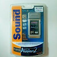 NEW CREATIVE SOUND BLASTER AUDIGY 2 ZS NOTEBOOK SOUND CARD PCMCIA