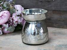 Chic Antique Bauernsilbervase Vase Shabby Vintage Landhaus