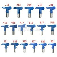 29 Type Airless Paint Sprayer Nozzle Spray Gun Tips 2/3/4/5/6 Series Blue Tools