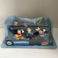 Disney Mickey Mouse and the Roadster Racers Figure Set 6 Figurines New In Box