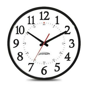 "Primex 12.5"" Traditional Series Bluetooth Analog Clock"