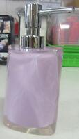 Dispenser Dosasapone Liquido Accessori Bagno Gedy Twist lilla rosa codice 4681