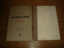 LAND'S END: POEMS.BY JUSSAWALLA, Adil. 1962 FIRST EDITION HARDBACK