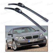 Bracketless Car Wiper Blade Refresh Windshield for 2010-2015 F10 BMW 5-Series