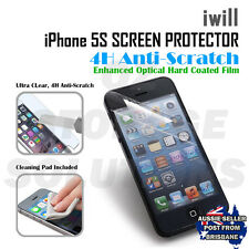 iwill Apple iPhone 5 5s Premium anti Scratch extra clear Screen Protector
