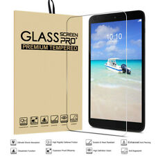 "8"" Tablet Tempered film Glass Screen Protector Scratch Resistant For Alcatel"