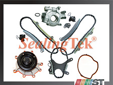 Fit 99-07 Dodge Jeep 4.7 V8 Engine Timing Chain Water Oil Pump Kit w/o gears set