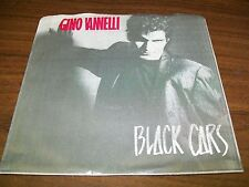 """Gino Vannelli-Black Cars-7"""" 45-HME-WS4 04889-Picture sleeve-VG+"""