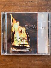 Michael Nyman Live Venture CD 1994 Near Mint