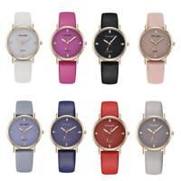 Elegant Women Ladies Glitter Starry Sky Watch Leather Soft Strap Watches Gift