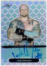 JEFF MONSON 2011 Leaf Metal UFC MMA Refractor Auto 40/50 Card #BAJM2