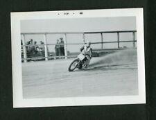 Flat Track MOTORCYCLE Racing ROOSTIN Around CORNERS Vintage 1968 Photo 466178