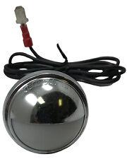 (2) License Plate Light Bulb Socket Standard S-40 Lamp Repair Pigtail Assembly