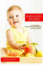 Baby Food Recipes Easy Wholesome Recipes For Busy Parents 6-12 Months